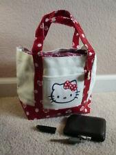 NWT Original Sanrio Hello Kitty Emoji White Ivory and Red Tote Bag Handbag