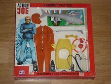 ACTION JOE MAN TEAM RARE TENUE NEUVE CHASSEUR SOUS MARIN VERSION 1976 REF 2972