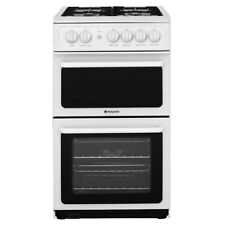 Hotpoint HAG51P Free Standing Gas Cooker with Gas Hob 50cm Polar White New