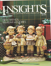 1990 goebel Collector's club Insights Magazine volume 14 number 2 fall