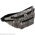 ACU Digital Camo Camouflage Waist Bag Survival Kit Fanny Pack with 5 Pockets!