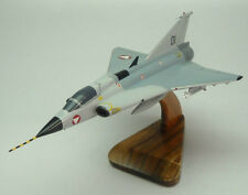 J-35-E Saab MkII Draken J35OE Airplane Desk Wood Model Small New