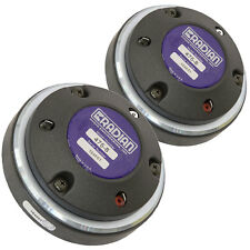 """Pair Radian 475PB High Frequency Compression Driver 1"""" Compression Driver 16 ohm"""