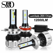 Bright ZES chip LED Headlight Kit Canbus Bulb Hi/Lo Beam 80W 12000Lm 6000K White