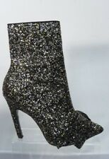 TOP SHOP Hallelujah Glitter Ankle Boots UK Size 5  EU 38  US 7.5