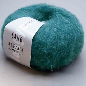 Lang Yarns Alpaca Superlight 188 - Ll 652 11/12ft/0.9oz - Needle Size 3,5 -4