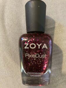 zoya pixie dust nail polish Noir