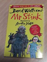 Mr Stink by David Walliams Paperback And CD Gift Edition
