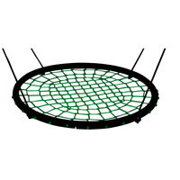 40'' Children Kids Spider Net Hanging Rope Outdoor Swing Seat Garden Play Toys