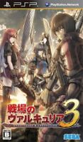 USED PSP Valkyria Chronicles III 3 Unrecorded Chronicles