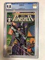 Punisher (1987) #1 (CGC 9.8 WP) Rarer Newsstand Edition