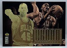 1994 MICHAEL JORDAN COLLECTION UPPER DECK COLLECTOR'S CHOICE CARD JC4 GOLD