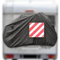 ProPlus Fahrradschutzhülle für 2 Fahrräder, Warntafeltasche Cover für Capron