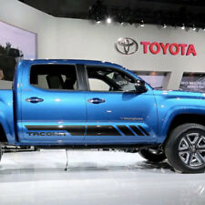 Toyota TACOMA 2016 TRD sport side stripe graphics decal
