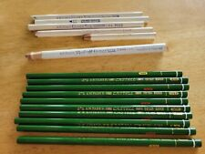 New listing Faber-Castell Graphite Pencils, 9000 Art Graphite - Lot of 10+6 Eraser Stiks