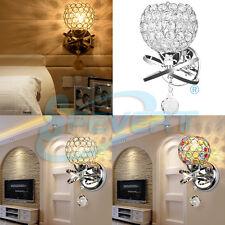 Maison Décoration d'intérieur cristal mur lampe E14 lumière murale appliques SP
