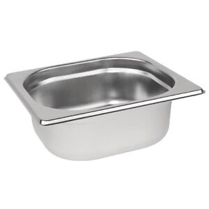 Gastronorm 1/6 Stainless Steel Container Bain Marie Food Pan FREE DELIVERY
