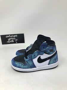 Nike Air Jordan 1 One Tie Dye Size 8c TD Toddler New DS CU0450-100