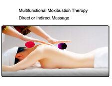 Portable Moxa Box Massage Balls Acupoint Moxibustion Therapy Moxa Roll Holder