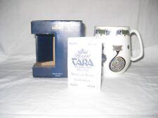 "New listing Mint Royal Tara Book of Kells Coffee / Tea Mug Letter ""B"" Ireland w/ Box & Card"