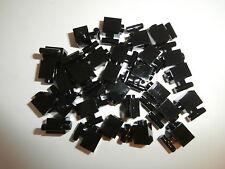 LEGO STAR WARS  30 schwarze 1er Bausteine mit Griff / Griffstange senkrecht NEU