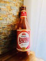 🔴 BIRRA RAFFO Taranto enorme bottiglia gonfiabile Vintage orig anni 80
