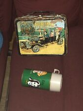 1965 The Munsters Vintage Metal Lunch Box with Thermos bottle Complete