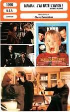 FICHE CINEMA : MAMAN J'AI RATE L'AVION - Culkin,Pesci,Columbus 1990 Home Alone