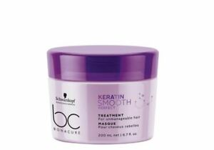 Schwarzkopf BC Bonacure Keratin Smooth Perfect Treatment 6.8oz