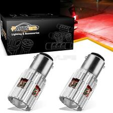 2pcs High Power 1156 7506 Canbus Error Free 5-Cree-XPE Red LED Bulbs Brake Light