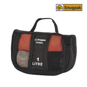Sacoche de Rangement SNUGPAK Pak Box 1 litre Noir
