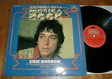 "ERIC BURDON & ANIMALS ""Historia De La Musica Rock"" LP w San Francisco Nights NM-"