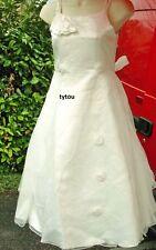 robe écru 16 ans cérémonie mariage princesse deguisement