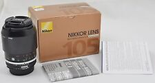 Nikon Micro-NIKKOR 105mm f/2.8 Ai-S Manual Focus CRC SIC Lens - Brand New