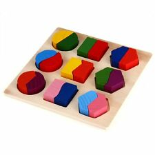 Wooden Puzzle Games Educational Toy for Baby Child SH