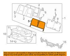Chevrolet GM OEM 10-15 Camaro Rear Seat-Seat Back Frame 92230625