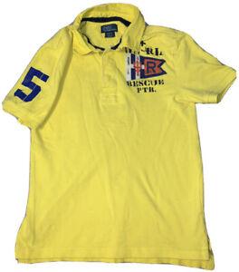Vintage Polo Ralph Lauren US Coastal Patrol Rescue Shirt Size Youth M (10-12)