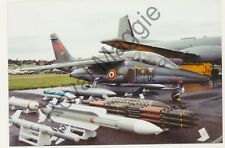Colour print of French Air Force Alpha Jet E-114 at Farnborough in 1994