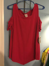 oh my gauze~ Dana open shoulder top in Pink~NWT~Size 1