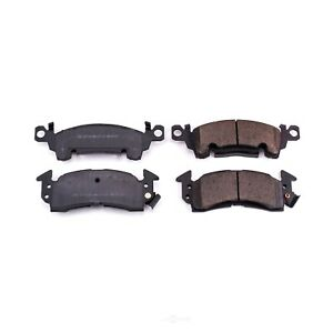 Disc Brake Pad Set-Z16 Low-Dust Ceramic Brake Pads Front,Rear Power Stop 16-052