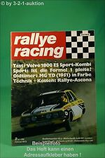 Rallye Racing 2/73 Volvo 1800 ES Rallye Ascona Midget + Poster