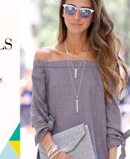 STELLA & DOT Rebel Pendant & Legend Pendant Necklace ~ Shop for a Cause🎗
