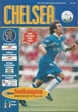 Football Programme - Chelsea v Southampton - Premiership - 30/8/1997