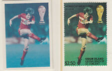 St Vincent Union Island 5525 - 1986 WORLD CUP FOOTBALL $2.50 CROMALIN PROOF