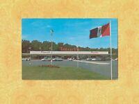 MA Plymouth 1950-60s era vintage postcard JEDESCHIS SUPER MARKET MASS