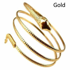 Women Charm Gold Snake Shaped Bracelet Winding Luxury Bangles Jewelry