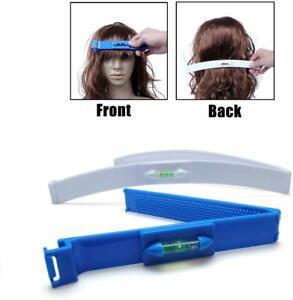 DIY Professional Bangs Hair Trim Cutting Clip Comb Hairstyle Typing Tool Fashion