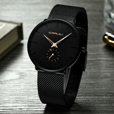 Men's Watch Relojes De Hombre Minimalist Ultra Thin Watches Stainless Steel
