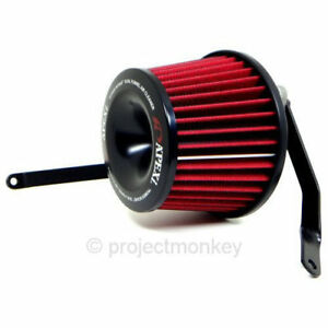 APEXi 508-N020 Power Intake Dual Funnel Air Filter Kit Fits: 03-06 Nissan 350Z