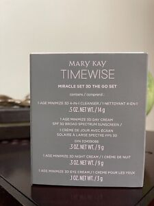 Mary Kay Time Wise  Miracle Set 3d  GO SET Combination/Oily Skin -LAST ONE-